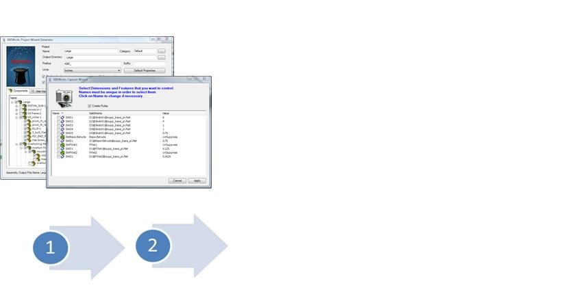 VISIONKBE Sprint - KBEWorks - Design Automation for SolidWorks